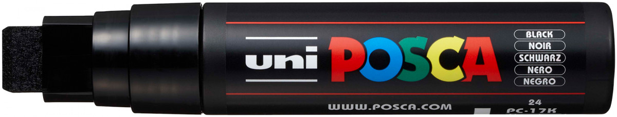 Uni-Ball PC-17K Posca Paint Marker - Extra Broad Chisel Tip