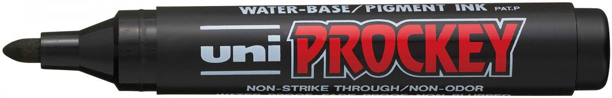 Uni-Ball PM-122 Prockey Marker Pen - Black