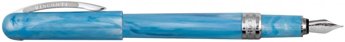 Visconti Breeze Fountain Pen - Blueberry