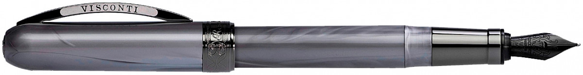Visconti Rembrandt Fountain Pen - Metallic Grey