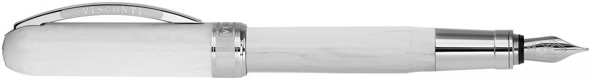 Visconti Rembrandt Fountain Pen - Marble White