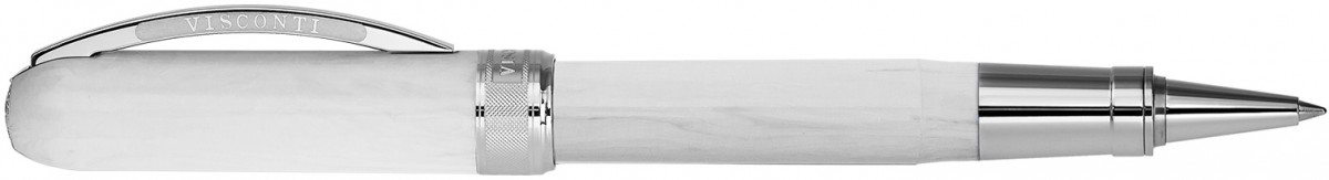 Visconti Rembrandt Rollerball Pen - Marble White
