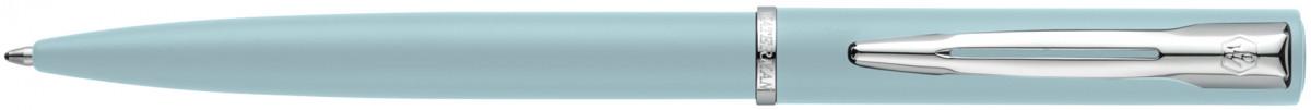 Waterman Allure Ballpoint Pen - Pastel Blue Chrome Trim