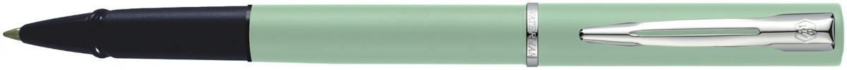 Waterman Allure Rollerball Pen - Pastel Green Chrome Trim
