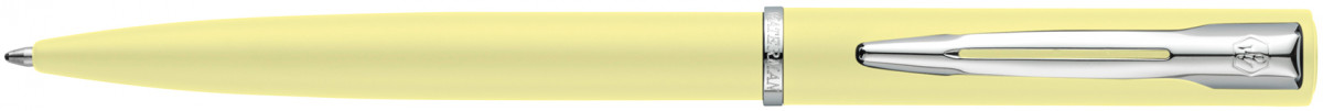 Waterman Allure Ballpoint Pen - Pastel Yellow Chrome Trim