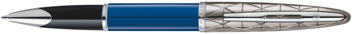 Waterman Carene Rollerball Pen - Blue Obsession Chrome Trm