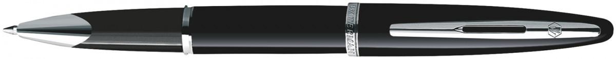 Waterman Carene Rollerball Pen - Black Sea Chrome Trim