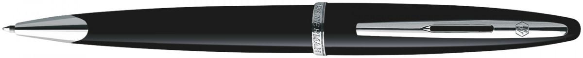 Waterman Carene Ballpoint Pen - Black Sea Chrome Trim
