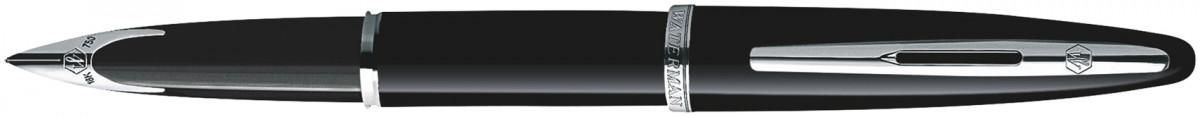 Waterman Carene Fountain Pen - Black Sea Chrome Trim