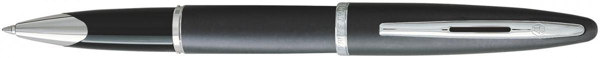 Waterman Carene Rollerball Pen - Charcoal Grey Chrome Trim