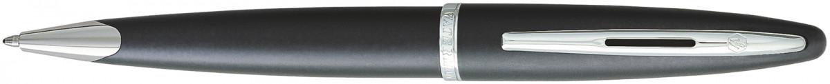 Waterman Carene Ballpoint Pen - Charcoal Grey Chrome Trim