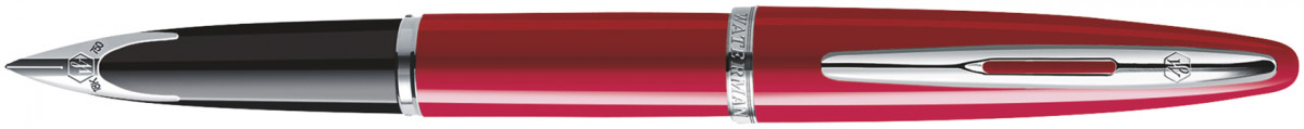 Waterman Carene Fountain Pen - Glossy Red Chrome Trim