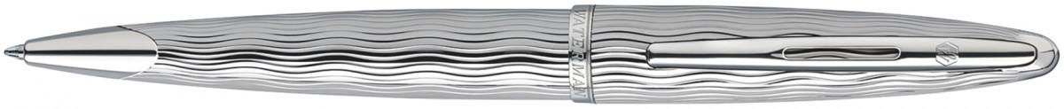 Waterman Carene Ballpoint Pen - Essential Silver Chrome Trim