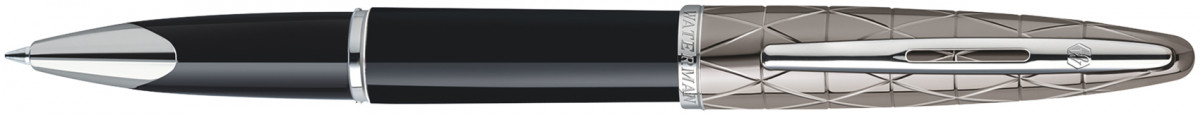Waterman Carene Rollerball Pen - Contemporary Black and Gunmetal Chrome Trim