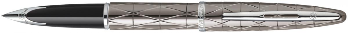 Waterman Carene Fountain Pen - Contemporary Gunmetal Chrome Trim