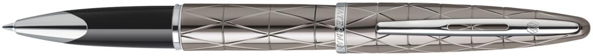 Waterman Carene Rollerball Pen - Contemporary Gunmetal Chrome Trim