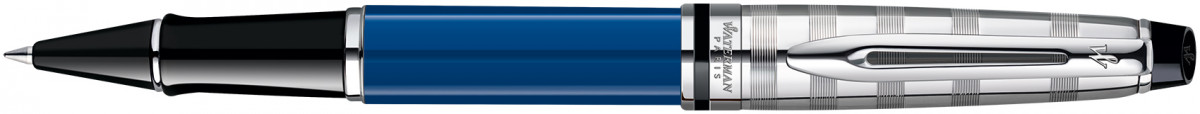 Waterman Expert Rollerball Pen - Blue Obsession Chrome Trim