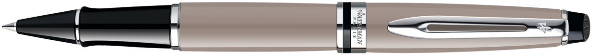 Waterman Expert Rollerball Pen - Taupe Chrome Trim