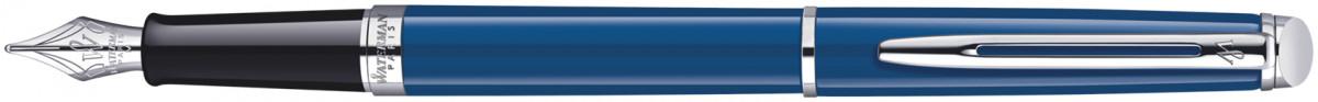 Waterman Hemisphere Fountain Pen - Blue Obsession Chrome Trim