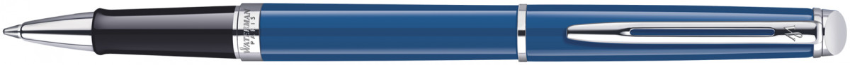 Waterman Hemisphere Rollerball Pen - Blue Obsession Chrome Trim