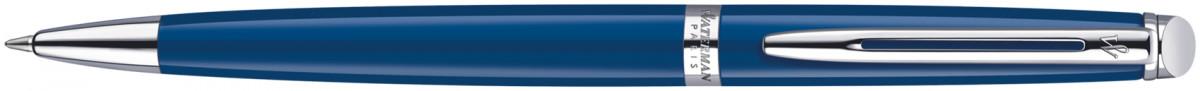 Waterman Hemisphere Ballpoint Pen - Blue Obsession Chrome Trim