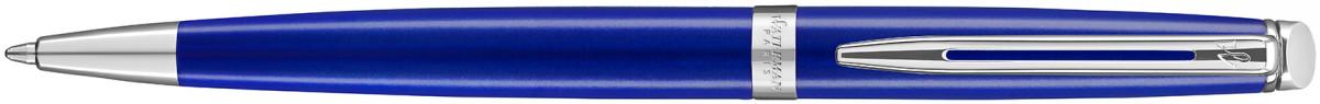 Waterman Hemisphere Ballpoint Pen - Essential Bright Blue Chrome Trim