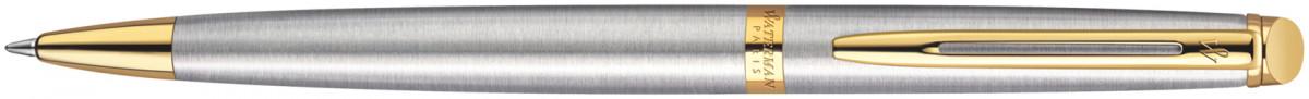 Waterman Hemisphere Ballpoint Pen - Stainless Steel Gold Trim