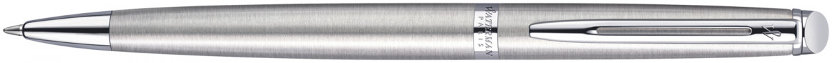 Waterman Hemisphere Ballpoint Pen - Stainless Steel Chrome Trim