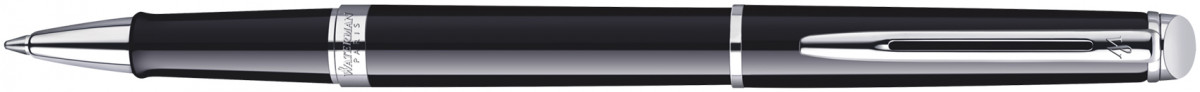 Waterman Hemisphere Rollerball Pen - Gloss Black Chrome Trim