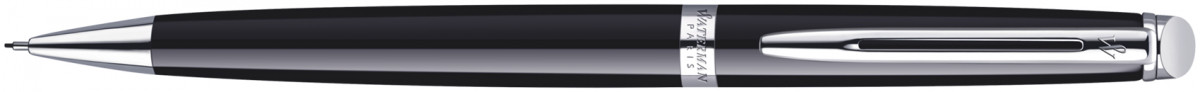 Waterman Hemisphere Pencil - Gloss Black Chrome Trim