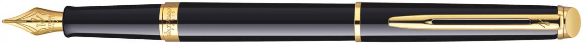 Waterman Hemisphere Fountain Pen - Gloss Black Gold Trim
