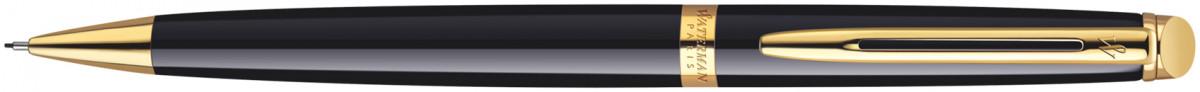 Waterman Hemisphere Pencil - Gloss Black Gold Trim