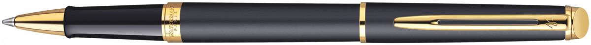 Waterman Hemisphere Rollerball Pen - Matte Black Gold Trim