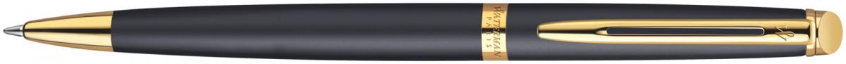 Waterman Hemisphere Ballpoint Pen - Matte Black Gold Trim