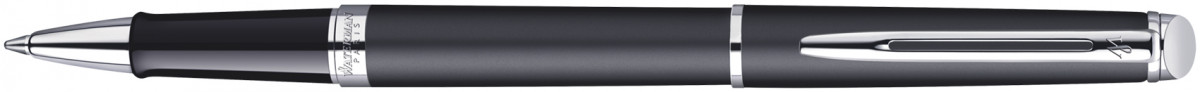 Waterman Hemisphere Rollerball Pen - Matte Black Chrome Trim