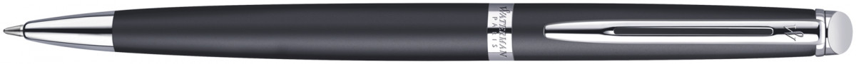 Waterman Hemisphere Ballpoint Pen - Matte Black Chrome Trim