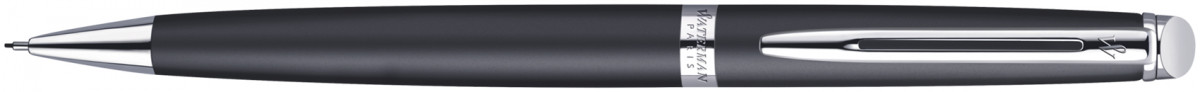 Waterman Hemisphere Pencil - Matte Black Chrome Trim