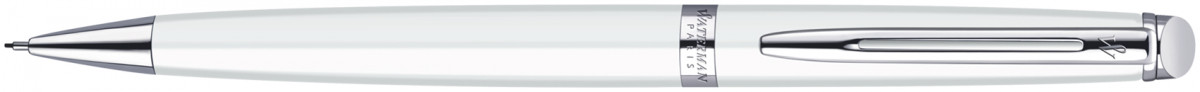 Waterman Hemisphere Pencil - White Chrome Trim