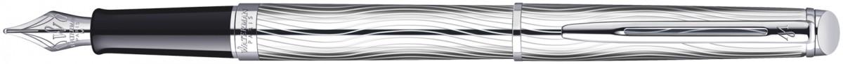 Waterman Hemisphere Fountain Pen - Deluxe Metal Chrome Trim