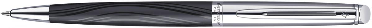 Waterman Hemisphere Ballpoint Pen - Deluxe Silky Chrome Trim