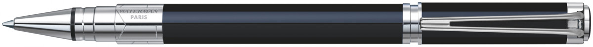 Waterman Perspective Rollerball Pen - Black Chrome Trim