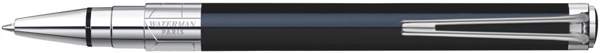 Waterman Perspective Ballpoint Pen - Black Chrome Trim