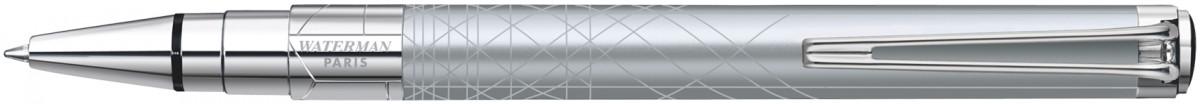 Waterman Perspective Ballpoint Pen - Decorative Silver Chrome Trim