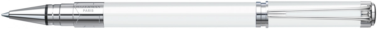 Waterman Perspective Rollerball Pen - White Chrome Trim