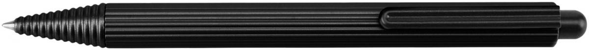 Worther Profil Ballpoint Pen - Black Aluminium