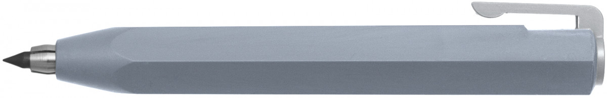 Worther Shorty Mechanical Pencil - Aluminium (3.15mm in Black Presentation Gift Box)