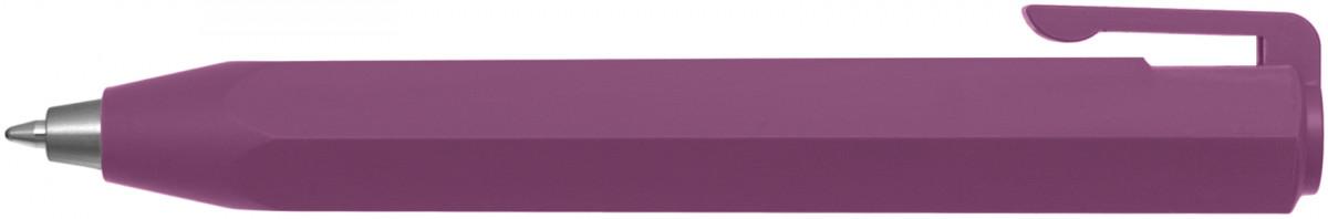 Worther Shorty Soft-Grip Ballpoint Pen - Violet