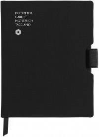 Caran d'Ache Office Notebook - A6 Canvas - Black