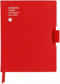 Caran d'Ache Office Notebook - A6 Canvas - Red