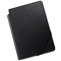 Cross Ruled Leather Journal - Classic Black - Medium